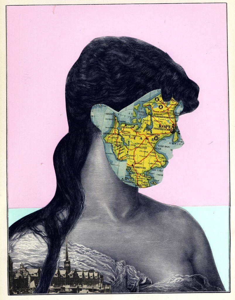 World Collage Atlas Exhibition Maria Elisa Quiaro